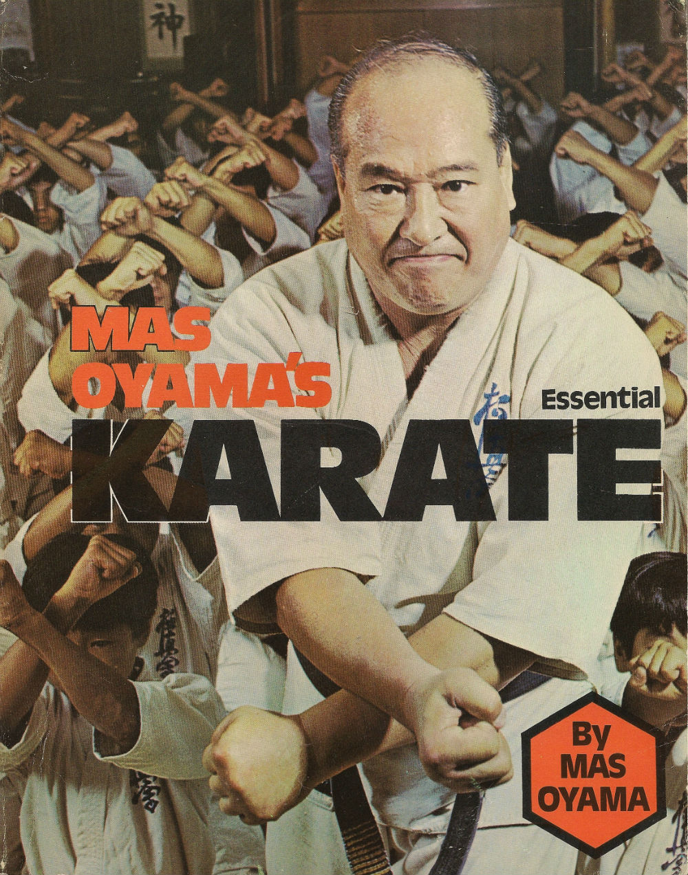Book cover of Mas Oyama's karate